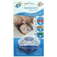 R G Medicalises THERMOMETER PACIFIER DAISY CLR