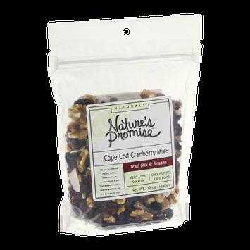 Nature's Promise Naturals Cape Cod Cranberry Trail Mix Snack