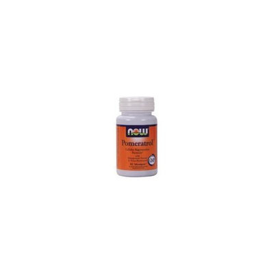 NOW Foods Pomeratrol, 60 Capsules