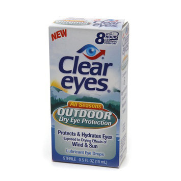 Clear eyes Outdoor Dry Eye Protection