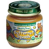 Healthy Times Organic Baby Food, Butternut Squash, 4-Ounce Jars (Pack of 12)