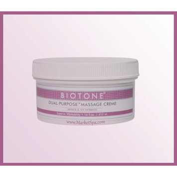 Biotone Dual Purpose Massage Cream - 14 Ounce Jar