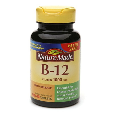 Nature Made Vitamin B-12 1000 mcg Timed Release Value Size