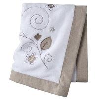 Castle Hill Linen Ruche Baby Blanket