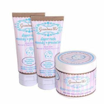 Grandma El's Diaper Ointment 3-pc. Gift Set