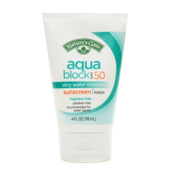 Nature's Gate Aquablock Sunscreen