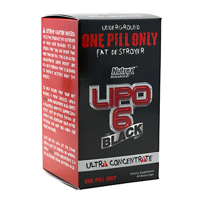 Nutrex Lipo-6 Black Ultra Concentrate Capsules