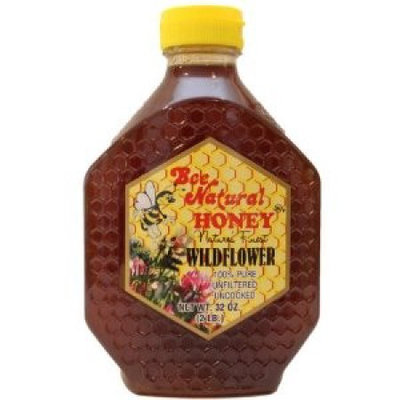 Bee Natural Honey Bee Natural Unfiltered Florida Honey 32