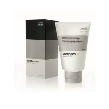 Anthony Logistics for Men Hair Gel Alcohol Free, 4 Ounce