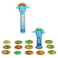 Hasbro Toys Elefun & Friends Snackin' Safari Game