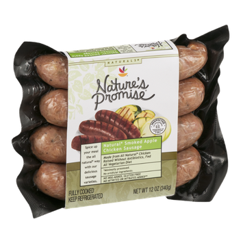 Nature's Promise Natural Smoked Apple Chicken Sausage