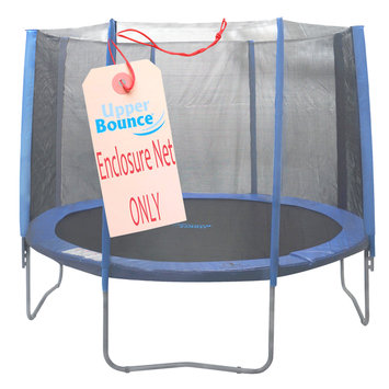 King Service Holding 13' Round Trampoline Net using 8 Straight Poles