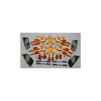 Integy T8695ORANGE Suspension Kit HPI 1/10 Bullet MT/Bullet ST