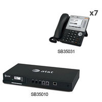 AT & T SB35010 + (7) SB35031 Syn248 by AT & T Business Telephones