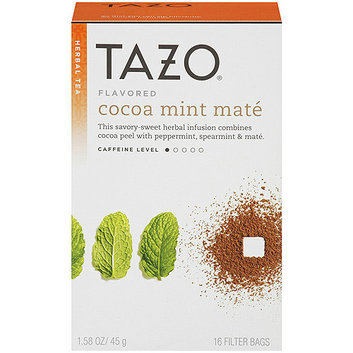 Tazo Cocoa Mint Maté Herbal Tea