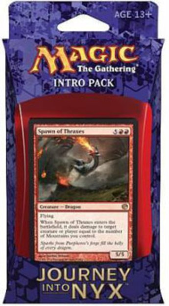 Wizards of the Coast Magic: The Gathering Journey Into NYX Intro Pack - Red