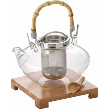 Bonjour Zen Glass Teapot with Glass Infuser