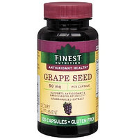 Finest Nutrition Grapeseed 50mg Caps 100s