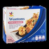 Ahold Wontons Pork & Shrimp