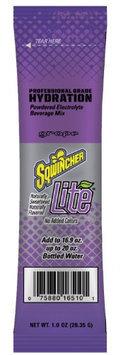 SQWINCHER 060280-GR Lite Sports Drnk Mix, Pwdr, Grape,1oz, PK8