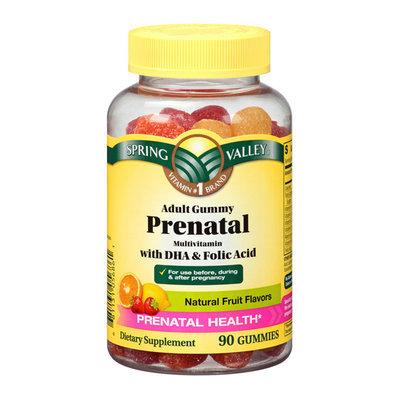 Spring Valley Adult Gummy Prenatal Multivitamin with DHA & Folic Acid