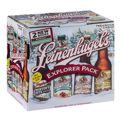 Leinenkugel's Beer Explorer Sample Pack - 12 PK