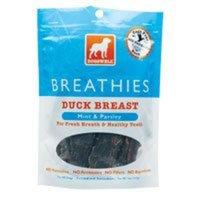 DogsWell Breathies Duck Jerky Treats 5oz