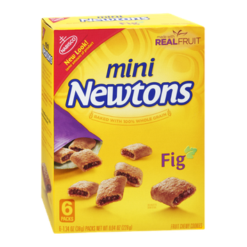 Nabisco Mini Newtons Fig Fruit Chewy Cookie