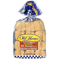 Old Home Home: Wheat Brown'n Serve Rolls, 12 Oz