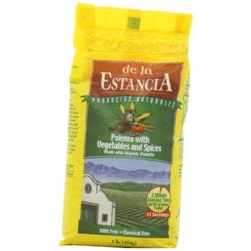 De la Estancia Polenta with Vegetables and Spices, 1-Pound (Pack of 6)