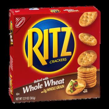 Nabisco Ritz Crackers Whole Wheat