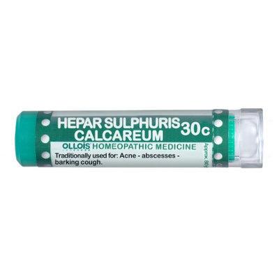 Ollois Homeopathic Medicine - Hepar Sulphuris Calcareum 30 C - 80 Pellets