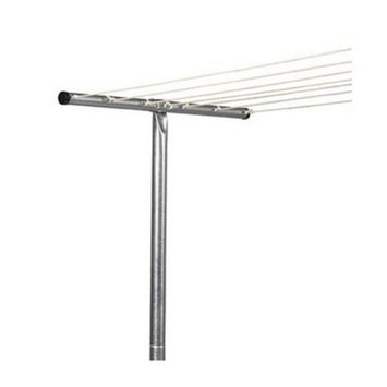Household Essentials Steel T-Leg Clothesline Pole