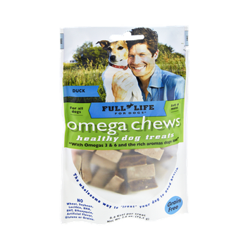Full Life For Dogs Omega Chews Duck Healthy Dog Treats