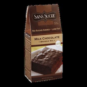 Sans Sucre Brownie Mix Milk Chocolate No Sugar Added