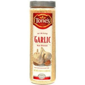 Tones Tone's-Minced Garlic, 23 oz. shaker