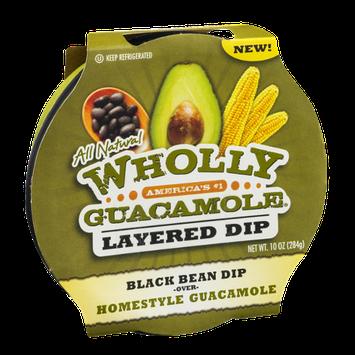Wholly Guacamole Layered Dip Black Bean