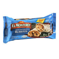 El Monterey Chicken, Rice & Beans Burritos Family Pack - 8 CT