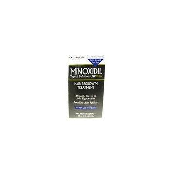 Rogaine Hair Regrowth Mens Minoxidil 5 Percent extra strength hair regrowth treatment solution - 2 Oz