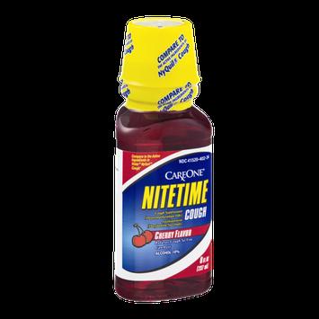 CareOne Nitetime Cough Suppressant Cherry
