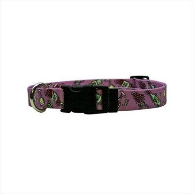 Yellow Dog Design WWC100TC Wine Crazy Standard Collar - Teacup