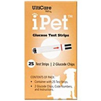 UltiCare VetRx iPet Test Strips, 25 Per Box