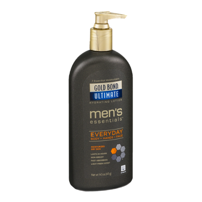 Gold Bond Ultimate Men's Essentials Hydrating Lotion