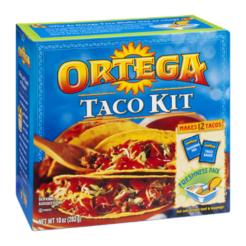 Ortega Taco Kit  -  12 Tacos