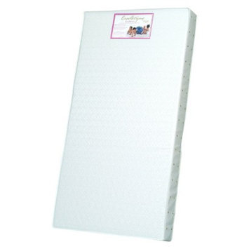 Crib, Toddler Bed Foam Mattress: Colgate White Classica I Foam Crib