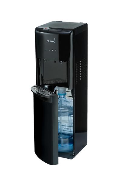 Primo Black Bottom Loading Hot/Cold Water Dispenser