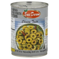 Liebers Green Olive Rings, Passover, 22-Ounce (Pack of 6)