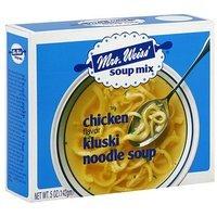 Mrs. Weiss ' Chicken Flavor Kluski Noodle Soup Mix