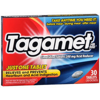 Tagamet HB 200 Reduces Stomach Acid for Heartburn Control