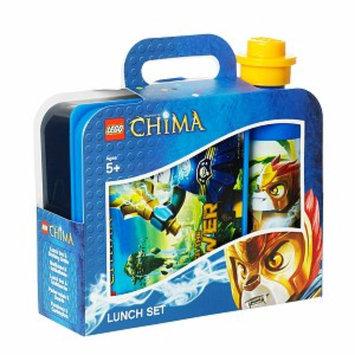 LEGO by Room Copenhagen Lego Chima Lunch Set, Blue, 1 ea
